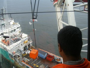 Offshore crane training