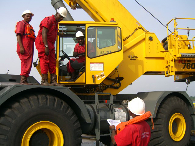 Mobile Crane Inspector Certification : Mobile crane training nigeira wolf safety services limited