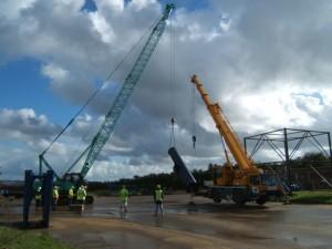 two crane lift